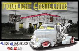 Another custom vehicle built by John Harlowe's Moonlight Engineering.