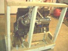 Chevrolet 235 C I 6 Cylinder Engine Transport Storage Crate