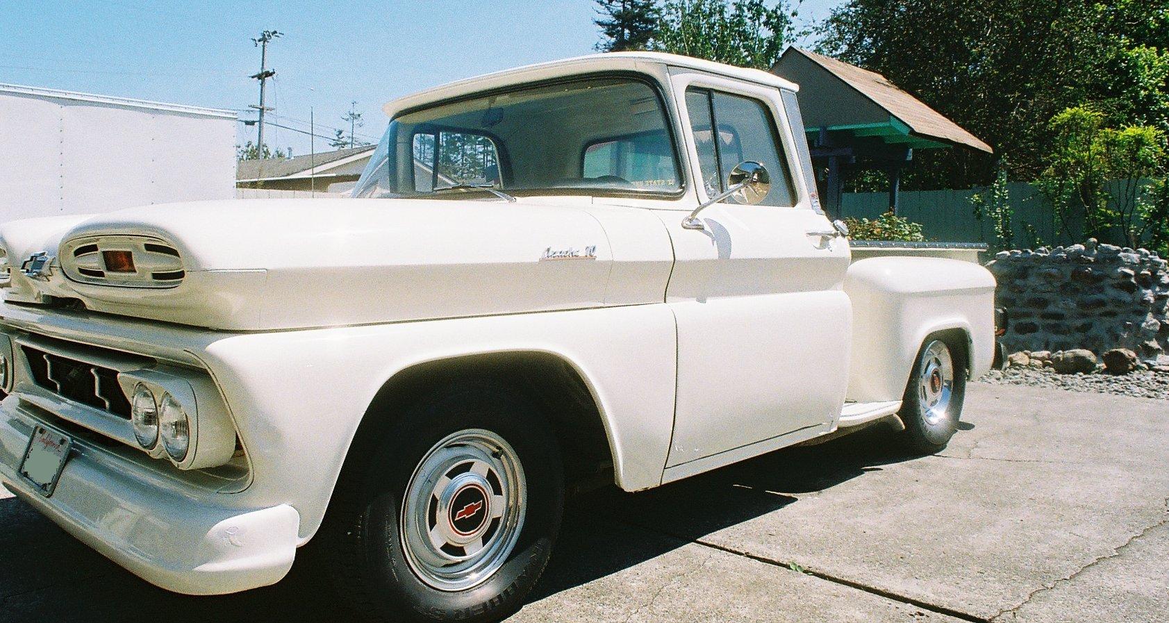 Chevrolet Apache 10 Pickup Photo Pg 3 1961 Pick Up