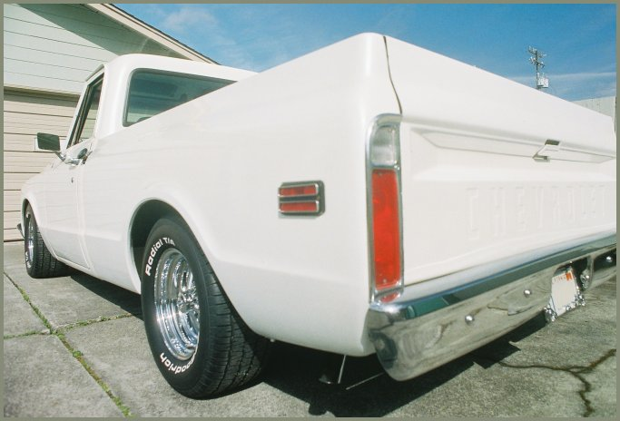 The 1971 Chevy C-10 pickup as it looks in March of 2011.