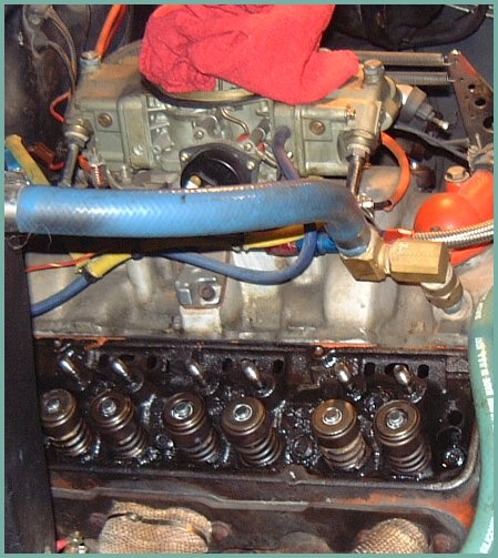 Valve Seal Replacement with Cylinder Head Installed Small Block