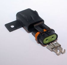 ATO/ATC Environmentally Sealed Fuse Holder with 14 Gauge 12 Inch Wire Loop 25 AMP RATING - Product Image